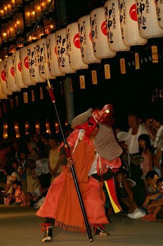 2009年 万灯祭奉納演舞