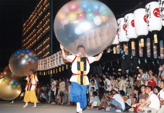 2005年 万灯祭奉納演舞 14