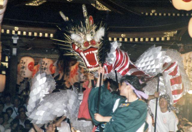 2005年 万灯祭奉納演舞 16