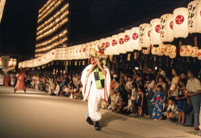 2006年 万灯祭奉納演舞 1