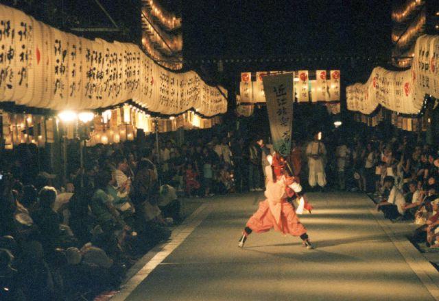 2006年 万灯祭奉納演舞 2