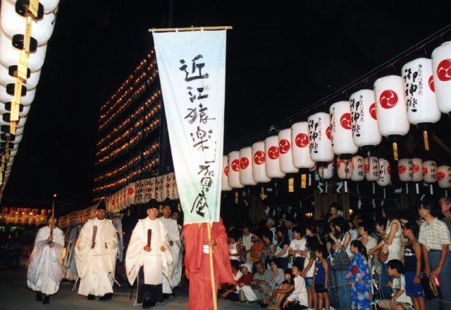 2006年 万灯祭奉納演舞 3