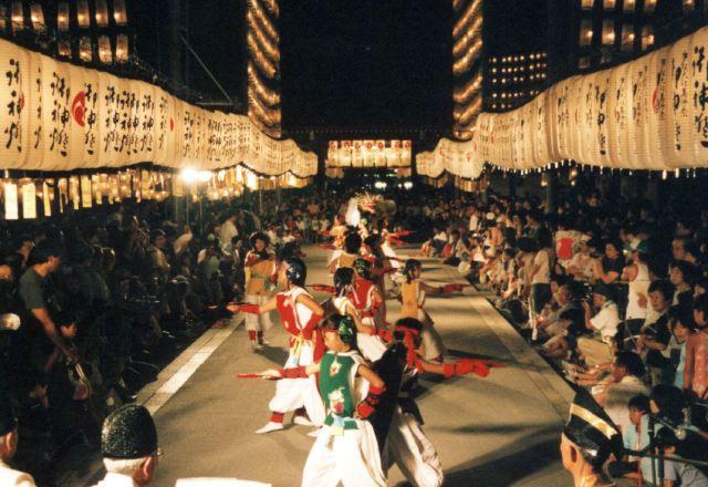 2006年 万灯祭奉納演舞 6