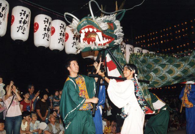 2006年 万灯祭奉納演舞 11