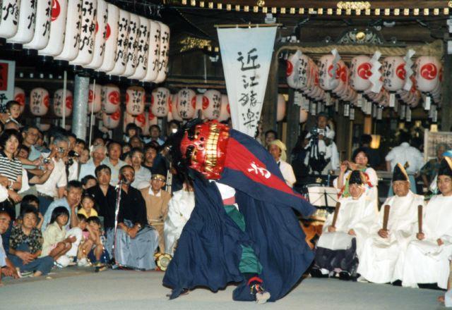 2006年 万灯祭奉納演舞 13