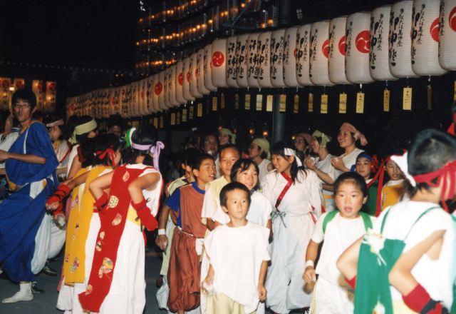 2006年 万灯祭奉納演舞 19