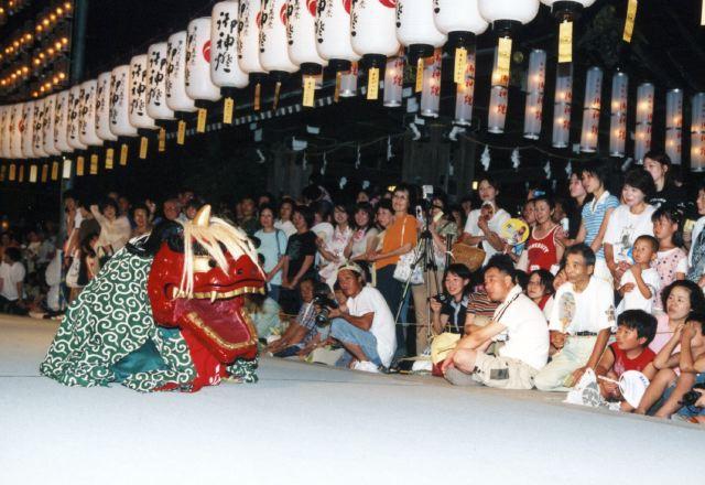 2005年 万灯祭奉納演舞 5